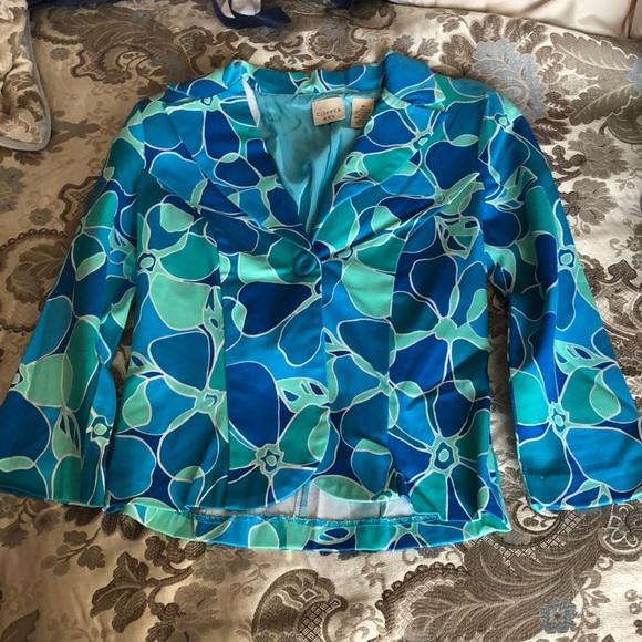 Copper Key Jackets & Blazers - Floral Blazer